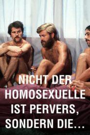 Não é homossexual que é perverso, mas a situação em que ele vive